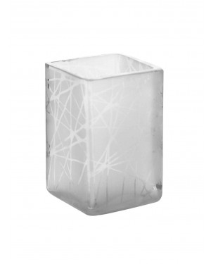 Kalakriti-Lace-Glass-Tealight-Holder-White