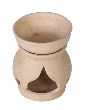 Kalakriti Ceramic Tea Light Holder ,Aromatherapy Essential Oil Burner