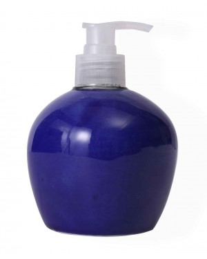 Kalakriti Blue  bathroom set, Bath Dispenser