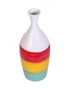Kalakriti Clay vase for Multi color r