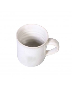 Kalakriti Ceramic Coffee Mugs in White