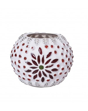 Kalakriti-Caravan-Gem-Round-Lantern-Different-color-stone-work